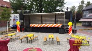 Buehnendekoration Twistringen Sommerfest