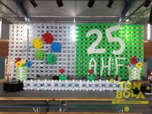 Bühnengestaltung mit Luftballons