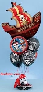 Ballonbouquet Thema Piraten