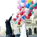 Hochzeit mit Ballons