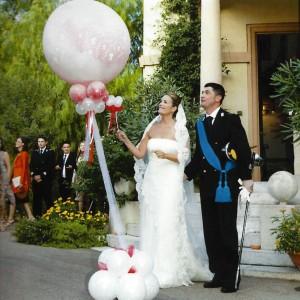 explodierender Ballon zur Hochzeit in Bremen-1